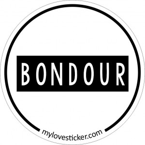 STICKER BONDOUR