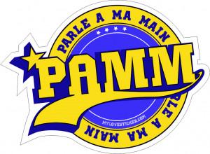STICKER PAMM - PARLE A MA MAIN