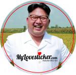 STICKER KIM JONG-UN