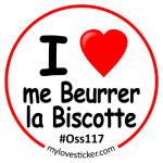 STICKER I LOVE ME BEURRER LA BISCOTTE