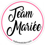STICKER TEAM MARIEE