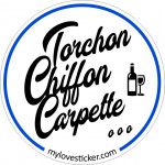STICKER TORCHON CHIFFON CARPETTE