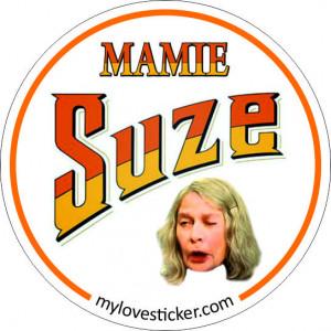 STICKER MAMIE SUZE