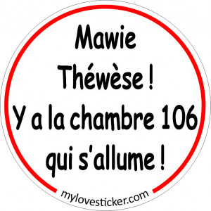 STICKER MAWIE THERESE