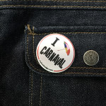 BADGE I LOVE CARNAVAL