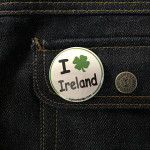 BADGE I LOVE IRELAND