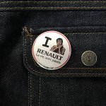 BADGE I LOVE RENAULT