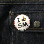 BADGE I LOVE SM