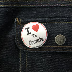 BADGE I LOVE TA CRAVATE