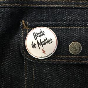BADGE BANDE DE MOLDUS