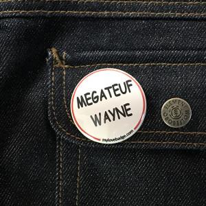 BADGE MEGATEUF WAYNE