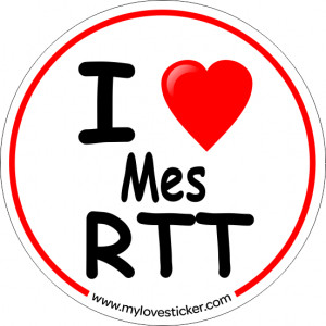 STICKER I LOVE MES RTT