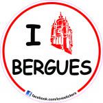 STICKER I LOVE BERGUES