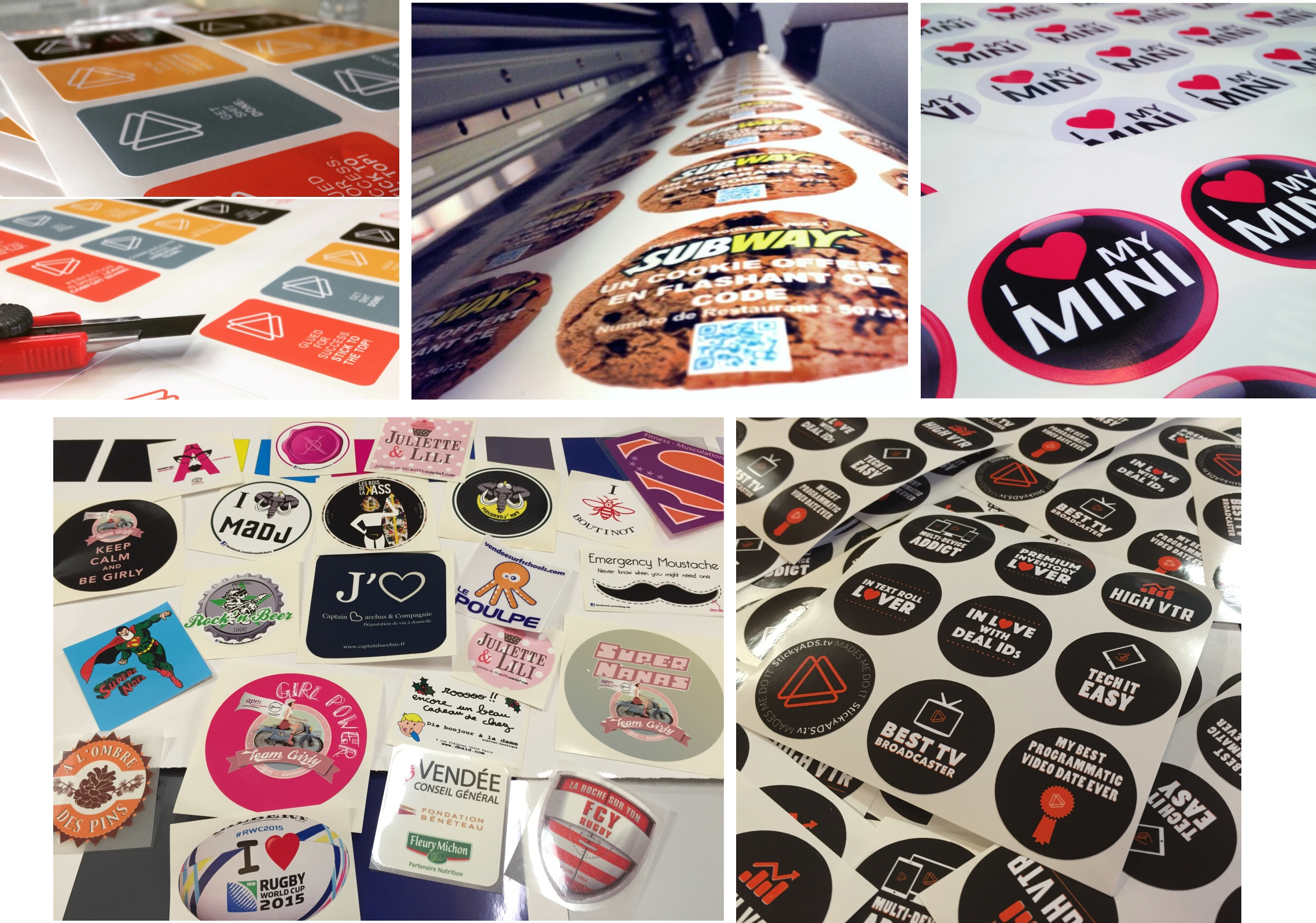 stickers impression numerique autocollants made in france