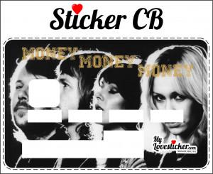 STICKER CARTE BLEUE ABBA