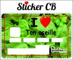 STICKER CARTE BLEUE I LOVE TON OSEILLE