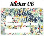 STICKER CARTE BLEUE LIBERTY A ETOILES